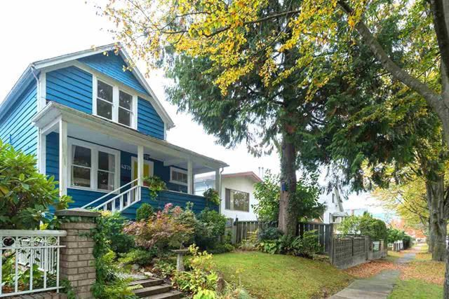 Main Photo: 4379 WELWYN Street in Vancouver: Victoria VE House for sale (Vancouver East)  : MLS®# R2162079