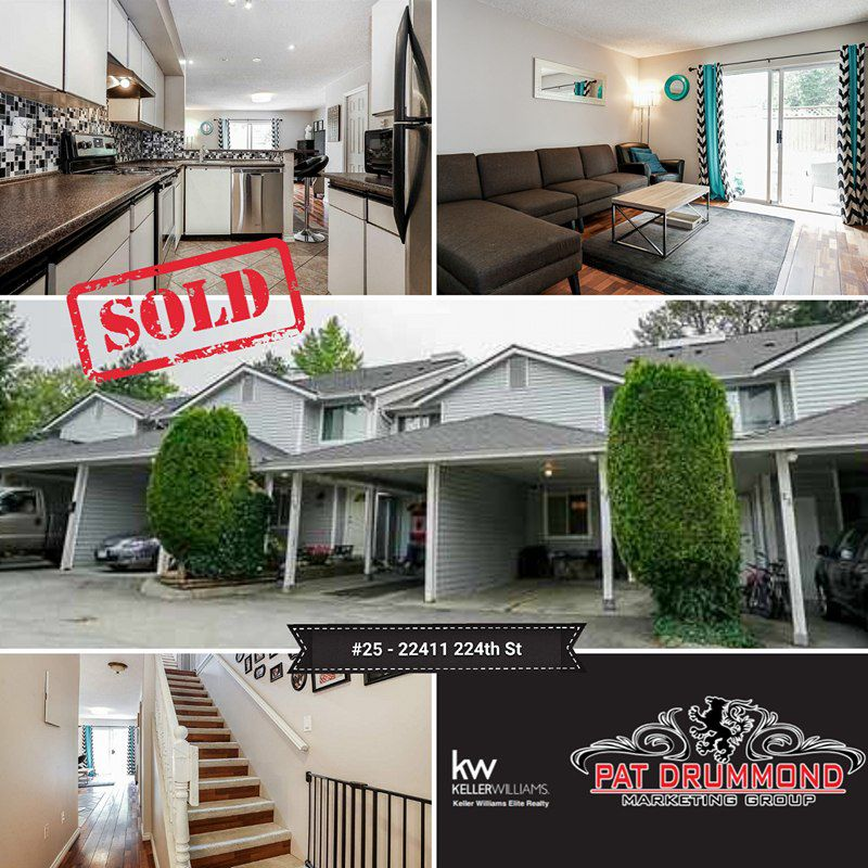 Main Photo: 25 22411 124 Street in Maple Ridge: West Central Townhouse for sale : MLS®# R2204248