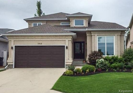 Main Photo: 1013 Scurfield Boulevard in Winnipeg: Whyte Ridge Residential for sale (1P)  : MLS®# 1807816