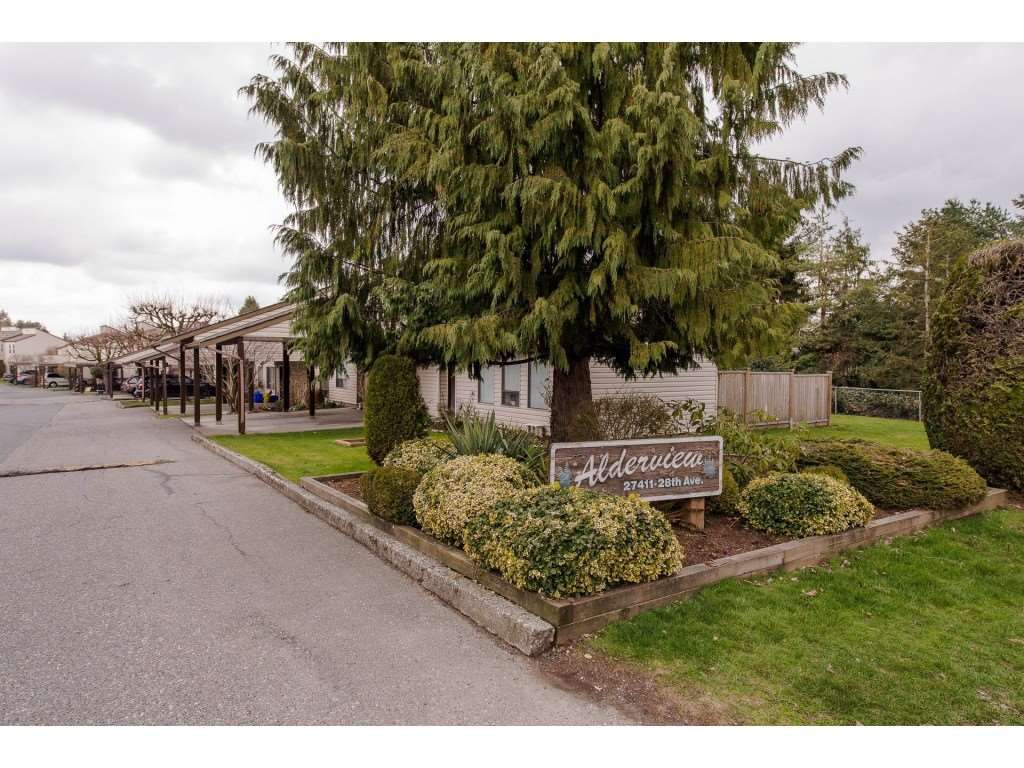 "Main Photo: 281 27411 28TH Avenue in Langley: Aldergrove Langley Townhouse for sale in ""Alderview"" : MLS®# R2278841"