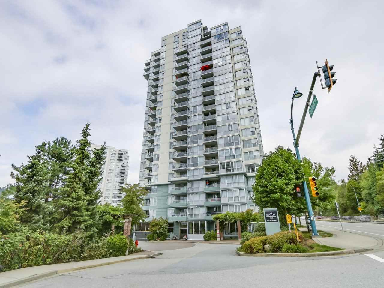 "Main Photo: 1107 295 GUILDFORD Way in Port Moody: North Shore Pt Moody Condo for sale in ""Bentley"" : MLS®# R2325613"