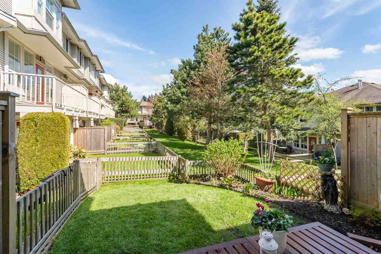 "Main Photo: 59 14952 58 Avenue in Surrey: Sullivan Station Townhouse for sale in ""Highbrae"" : MLS®# R2355772"