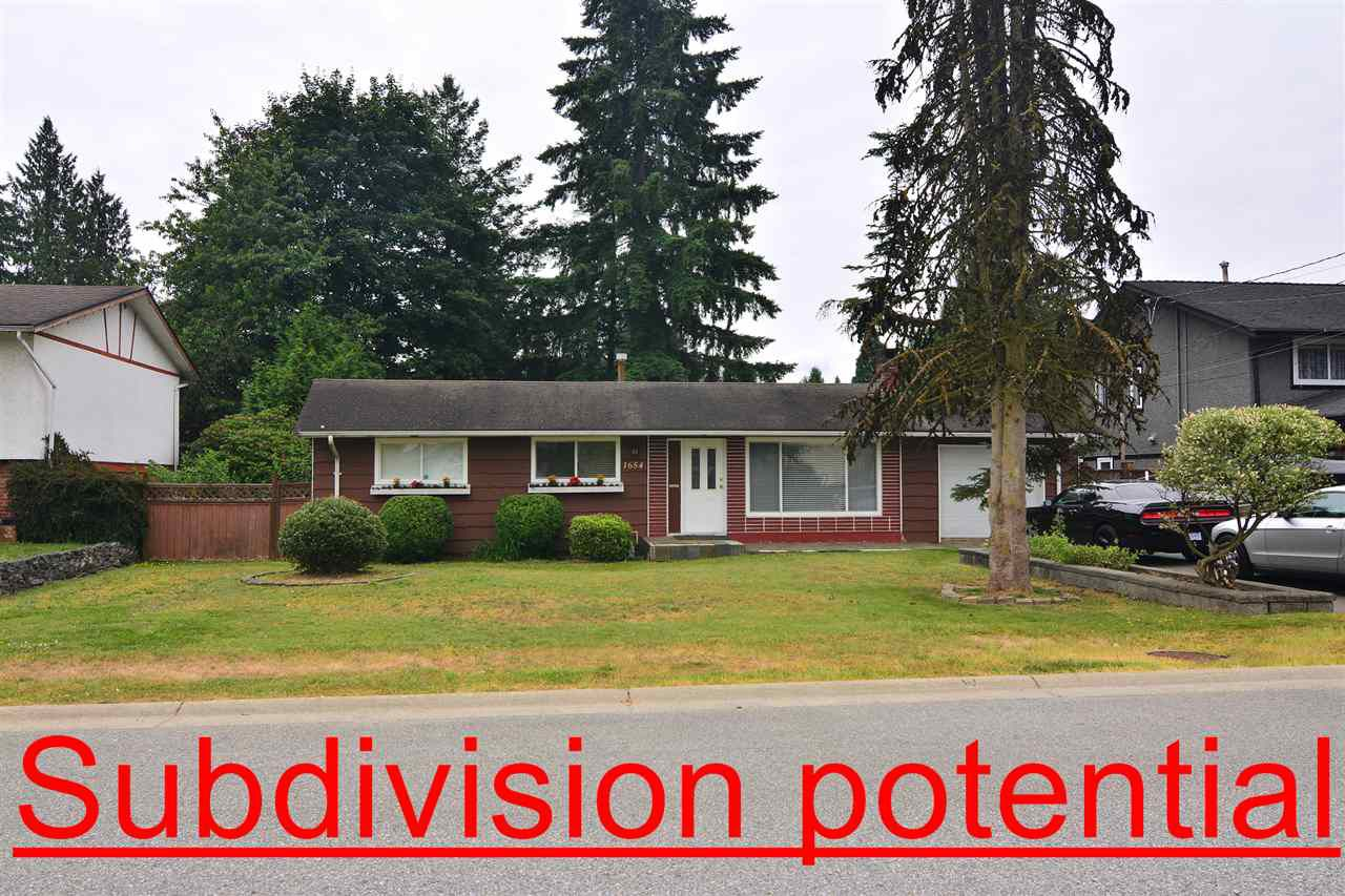 Main Photo: 1654 MANNING Avenue in Port Coquitlam: Glenwood PQ House for sale : MLS®# R2380118