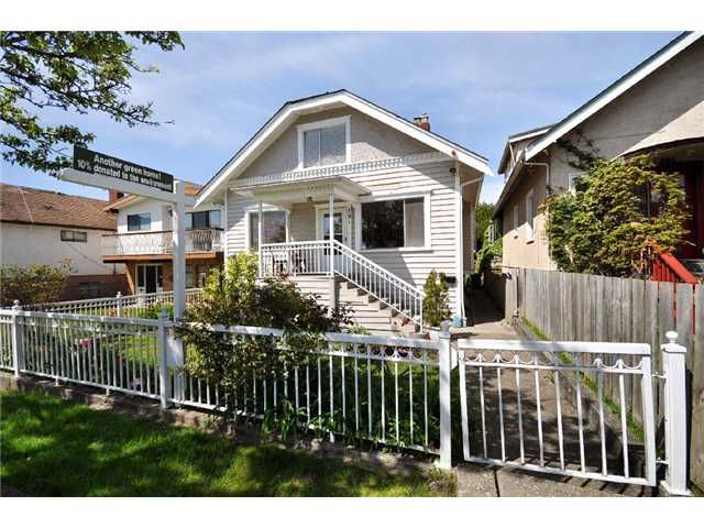 "Main Photo: 791 E 18TH Avenue in Vancouver: Fraser VE House for sale in ""Glen Park"" (Vancouver East)  : MLS®# V890050"
