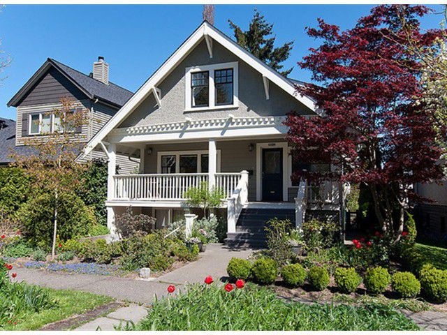 Main Photo: 4443 W 13TH AV in Vancouver: Point Grey House for sale (Vancouver West)  : MLS®# V1004651