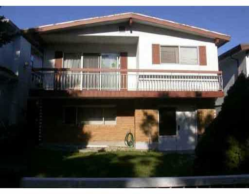 Main Photo: 4819 LANARK ST in Vancouver: Knight House for sale (Vancouver East)  : MLS®# V522999