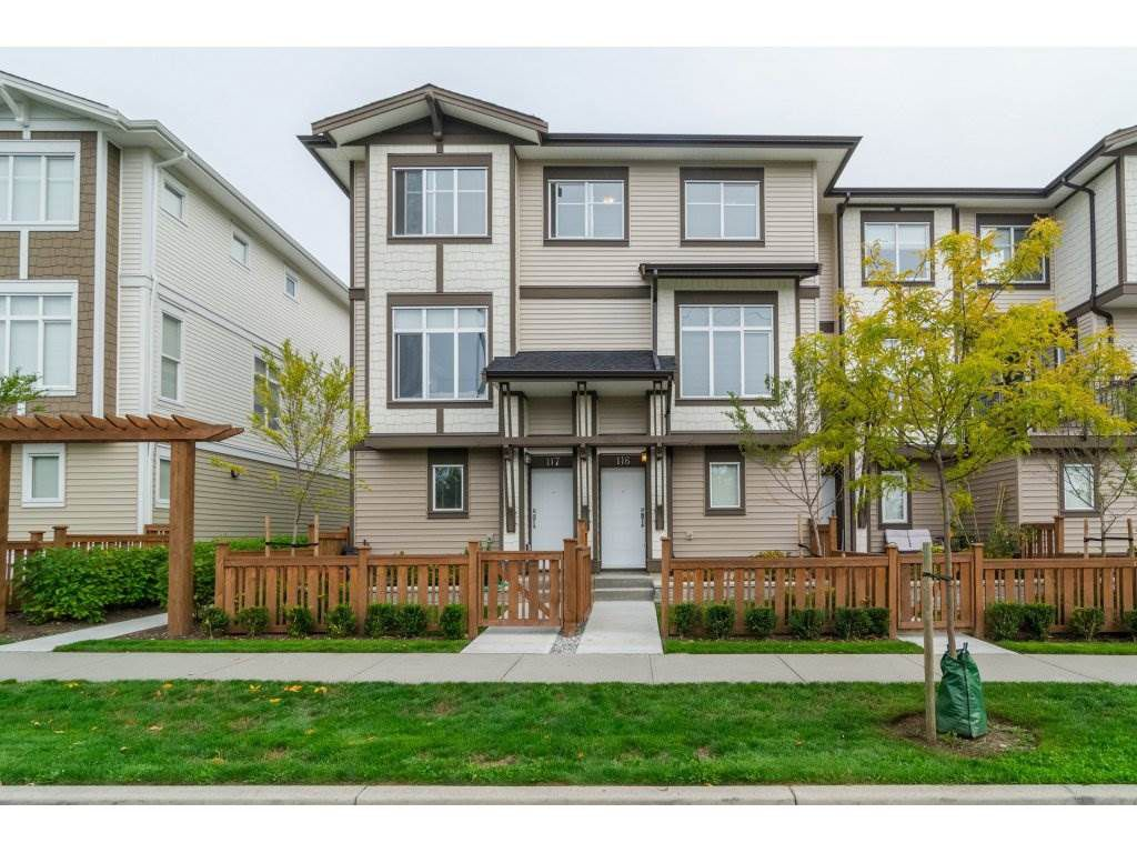 """Main Photo: 116 19433 68 Avenue in Surrey: Clayton Townhouse for sale in """"The Grove"""" (Cloverdale)  : MLS®# R2112157"""