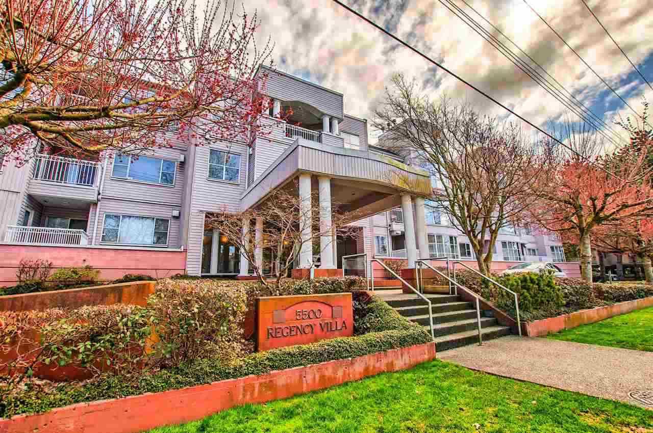 """Main Photo: 202 5500 ARCADIA Road in Richmond: Brighouse Condo for sale in """"REGENCY VILLA"""" : MLS®# R2159326"""