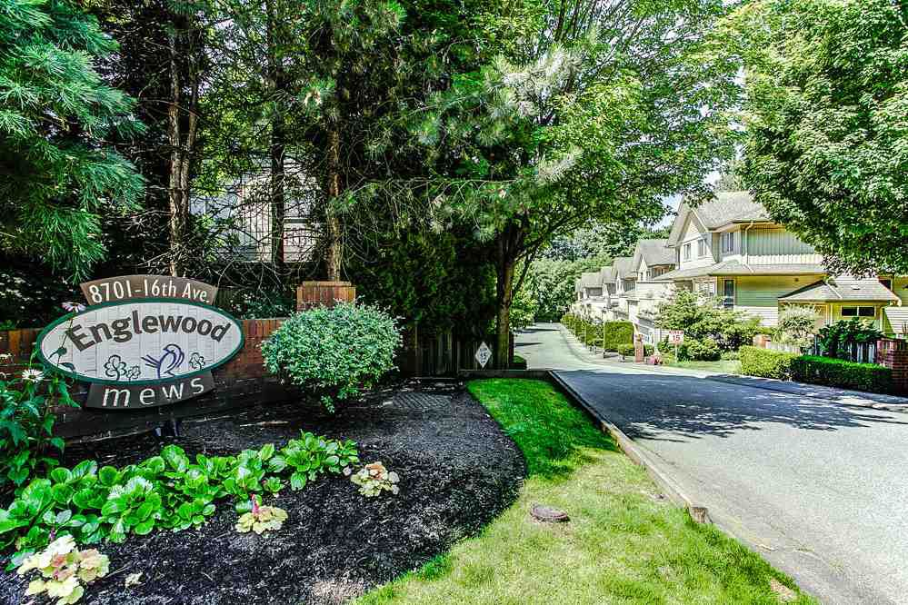"""Main Photo: 62 8701 16TH Avenue in Burnaby: The Crest Townhouse for sale in """"ENGLEWOOD MEWS"""" (Burnaby East)  : MLS®# R2227623"""