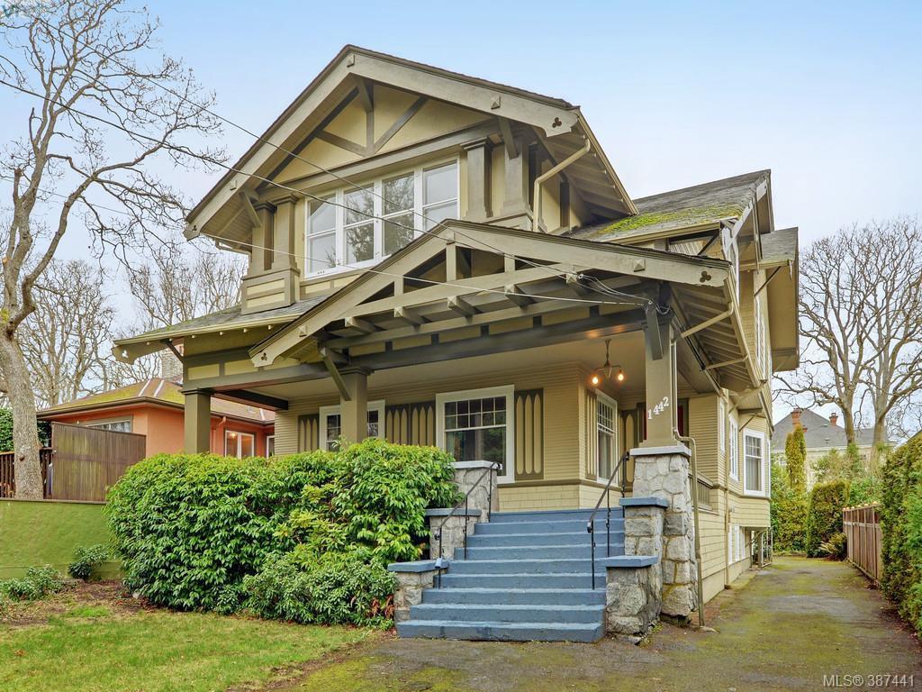 Main Photo: 1442 Rockland Avenue in VICTORIA: Vi Rockland Single Family Detached for sale (Victoria)  : MLS®# 387441