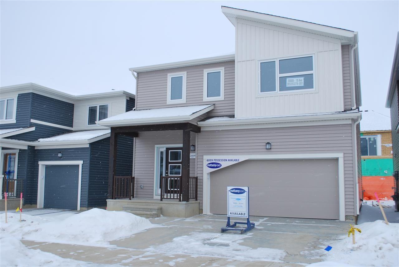 Main Photo: 20008 18 Avenue in Edmonton: Zone 57 House for sale : MLS®# E4140860