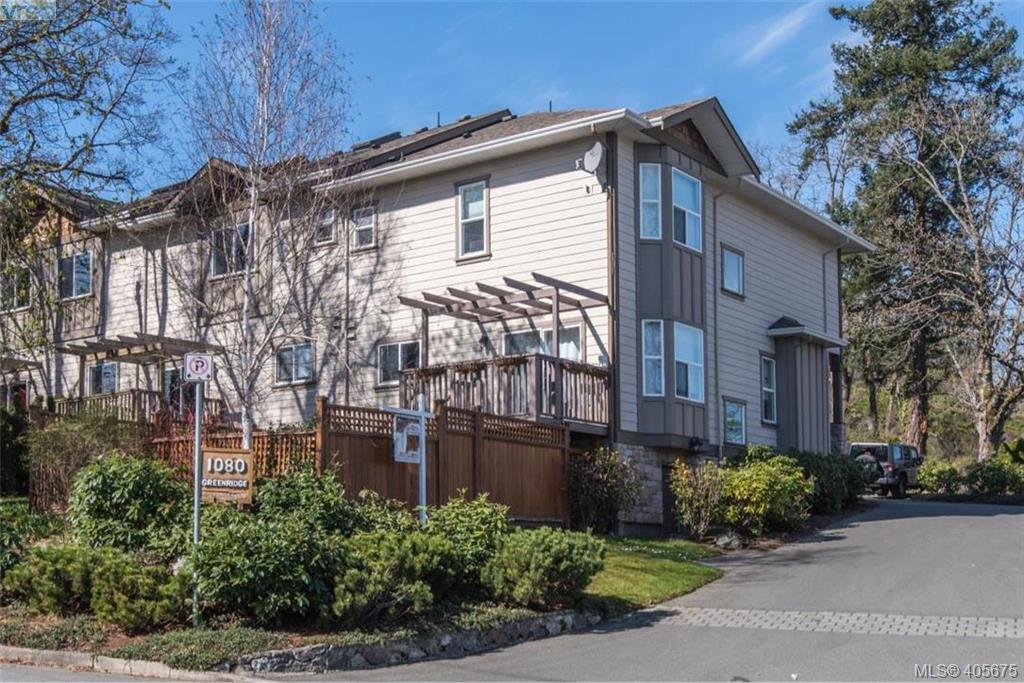 Main Photo: 6 1080 Greenridge Crescent in VICTORIA: SE Quadra Townhouse for sale (Saanich East)  : MLS®# 405675