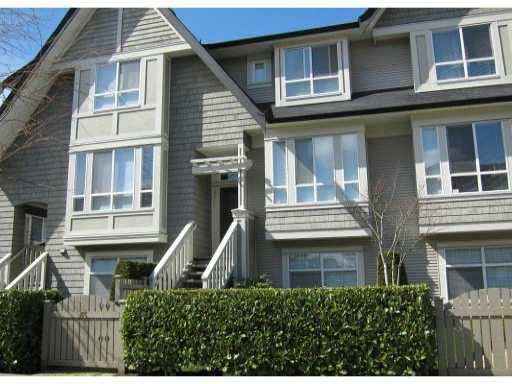 Main Photo: 85 9133 SILLS Avenue in Richmond: McLennan North Townhouse for sale : MLS®# V881150