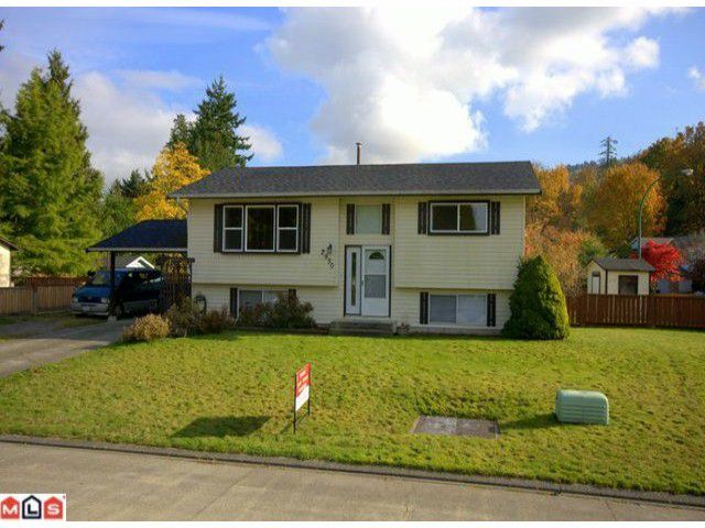 Main Photo: 2950 BERKS Street in Abbotsford: Abbotsford East House for sale : MLS®# F1125244