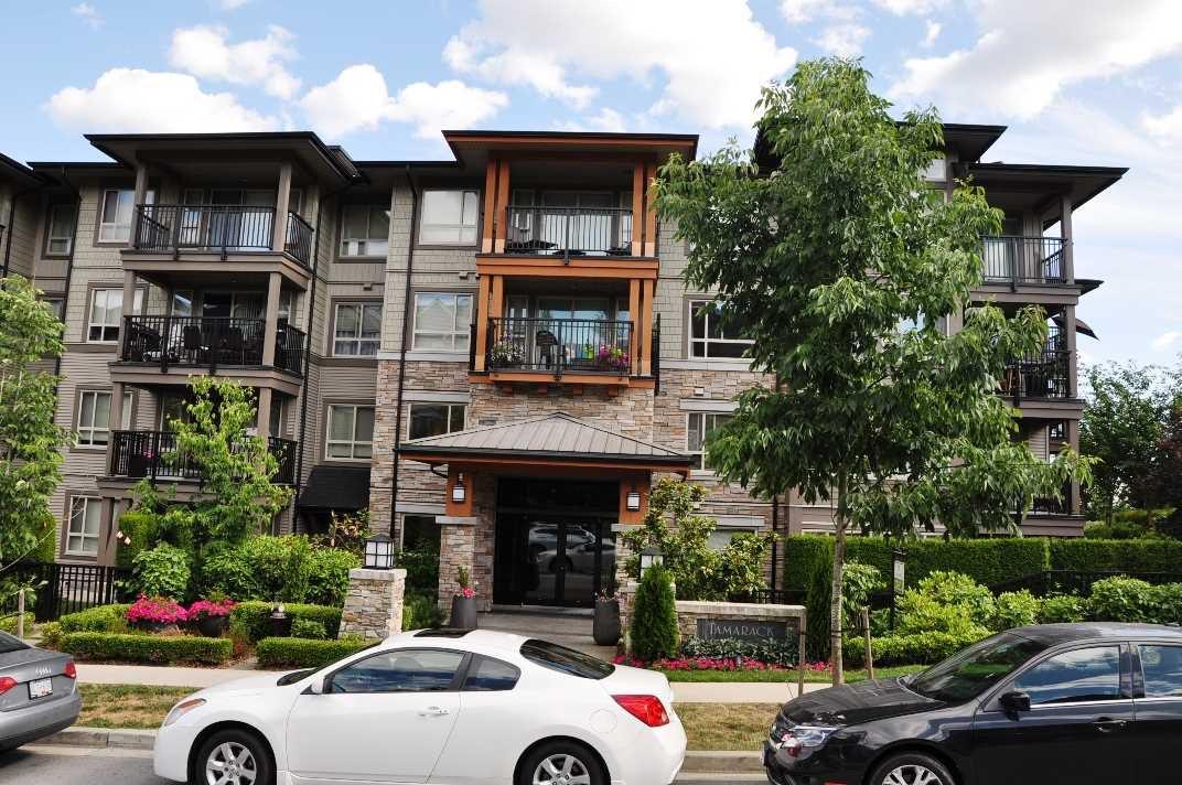 "Main Photo: 415 3156 DAYANEE SPRINGS Boulevard in Coquitlam: Westwood Plateau Condo for sale in ""TAMARACK"" : MLS®# R2193860"