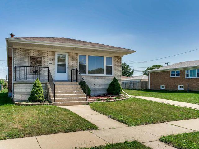 Main Photo: 503 MERRILL Avenue: Calumet City Single Family Home for sale ()  : MLS®# 09776405