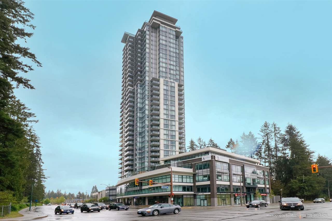 """Main Photo: 902 3080 LINCOLN Avenue in Coquitlam: North Coquitlam Condo for sale in """"1123 WESTWOOD"""" : MLS®# R2261228"""