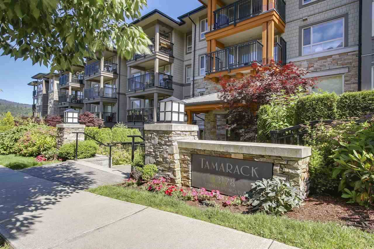 "Main Photo: 314 3178 DAYANEE SPRINGS Boulevard in Coquitlam: Westwood Plateau Condo for sale in ""TAMARACK"" : MLS®# R2357755"