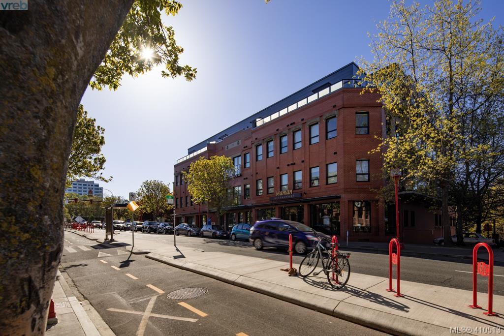 Main Photo: 104 595 Pandora Avenue in VICTORIA: Vi Downtown Condo Apartment for sale (Victoria)  : MLS®# 410513