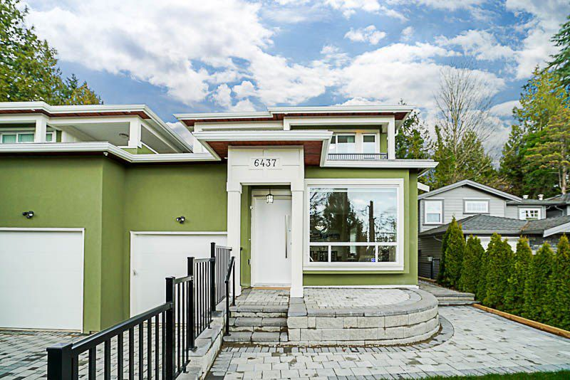 Main Photo: 6437 MARINE Drive in Burnaby: Big Bend House 1/2 Duplex for sale (Burnaby South)  : MLS®# R2374846
