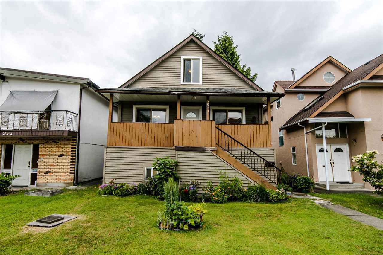 Main Photo: 5874 INVERNESS Street in Vancouver: Knight House for sale (Vancouver East)  : MLS®# R2387138
