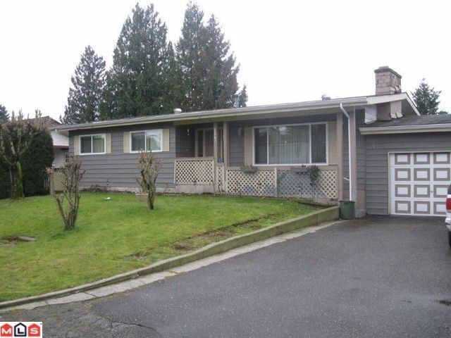 Main Photo: 2061 TOPAZ Street in Abbotsford: Abbotsford West House for sale : MLS®# F1200729