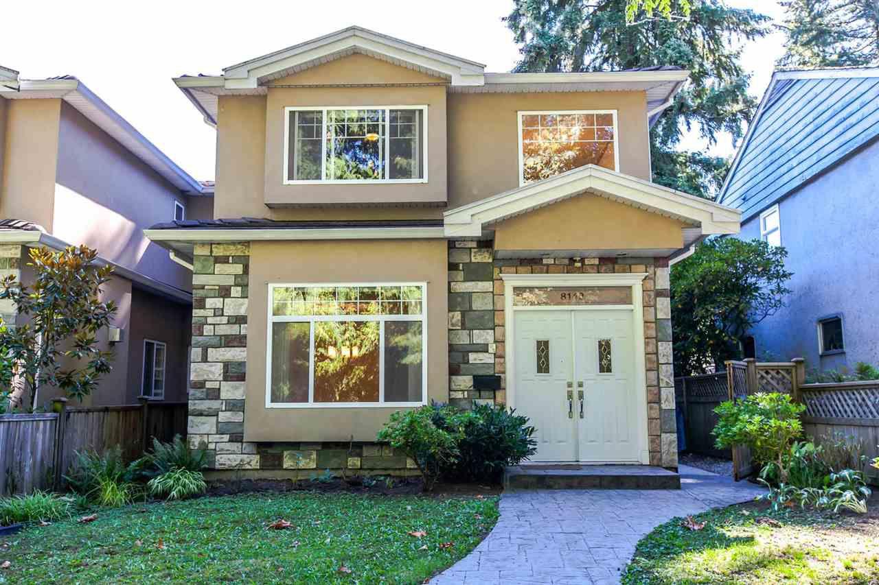 Main Photo: 8142 WEDGEWOOD Street in Burnaby: Burnaby Lake House 1/2 Duplex for sale (Burnaby South)  : MLS®# R2108883