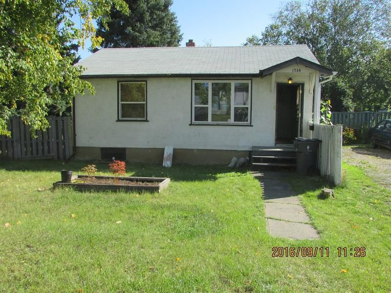 Main Photo: 1736 OAK Street in Prince George: Connaught House for sale (PG City Central (Zone 72))  : MLS®# R2128647