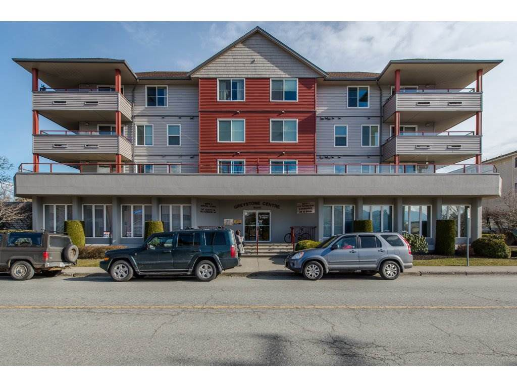 """Main Photo: 404 8980 MARY Street in Chilliwack: Chilliwack W Young-Well Condo for sale in """"GREYSTONE CENTRE"""" : MLS®# R2141307"""