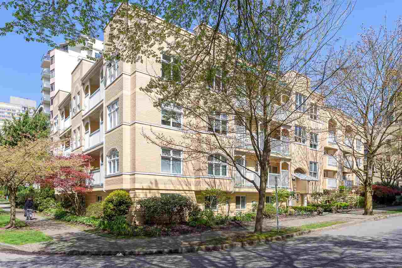 "Main Photo: 311 1125 GILFORD Street in Vancouver: West End VW Condo for sale in ""GILFORD COURT"" (Vancouver West)  : MLS®# R2158681"
