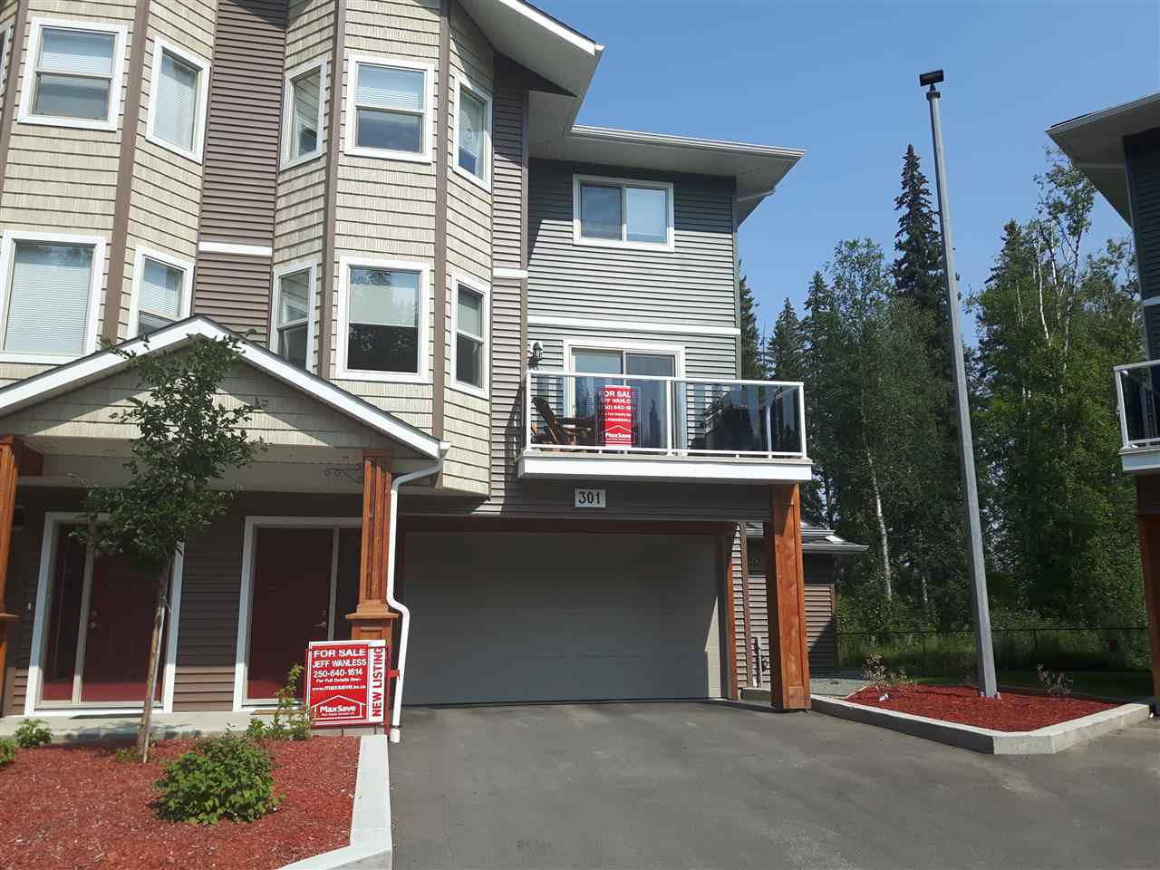 "Main Photo: 301 7400 CREEKSIDE Way in Prince George: Lower College Townhouse for sale in ""CREEKSIDE LANDING"" (PG City South (Zone 74))  : MLS®# R2320356"