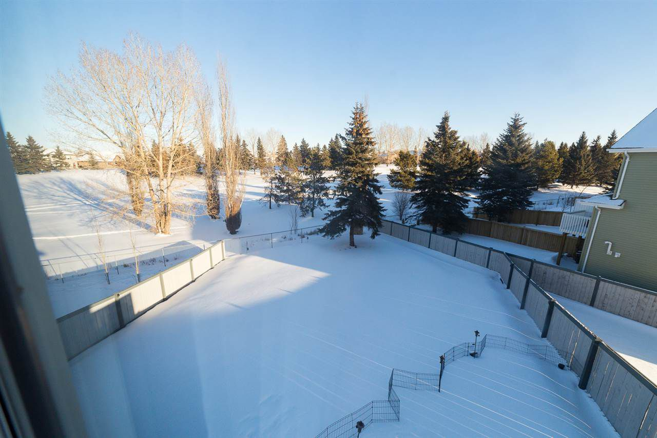 Here is the view from the Master bedroom window - simply gorgeous, even when it's covered in snow!