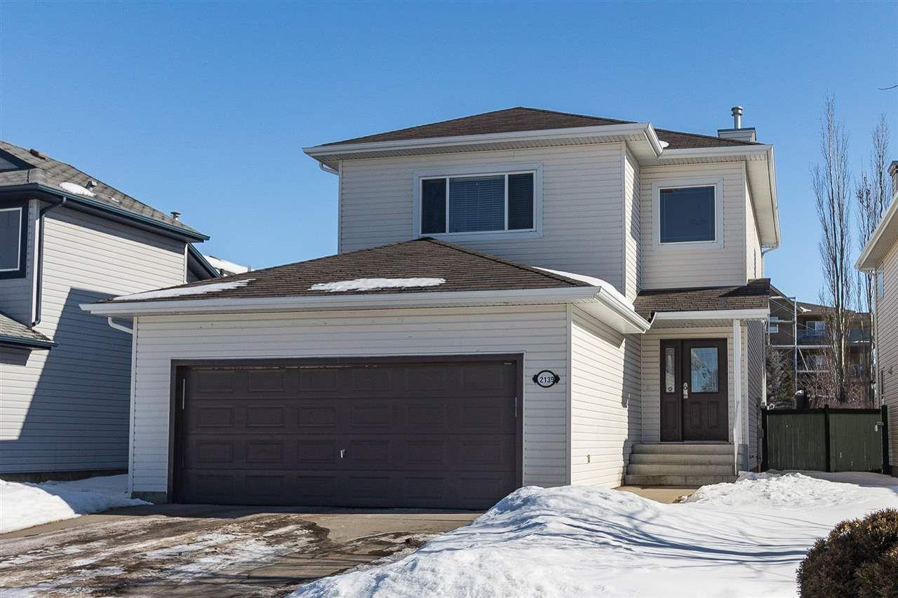 Main Photo: 2139 Brennan Crescent in Edmonton: Zone 58 House for sale : MLS®# E4147607