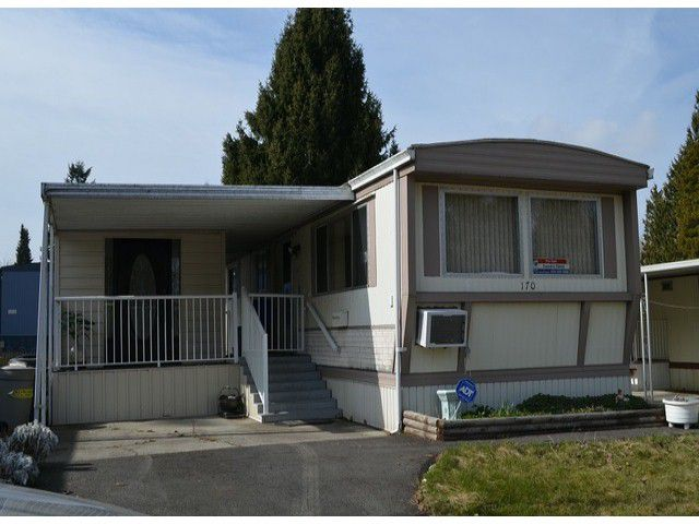 """Main Photo: 170 7790 KING GEORGE Boulevard in Surrey: East Newton Manufactured Home for sale in """"Crispen Bays"""" : MLS®# F1404653"""