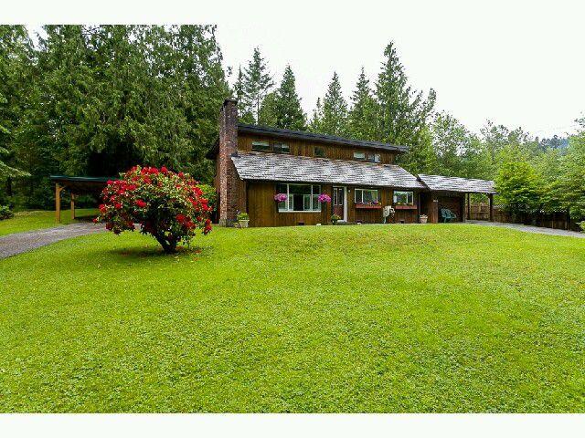 Main Photo: 9865 287TH Street in Maple Ridge: Whonnock House for sale : MLS®# V1067739