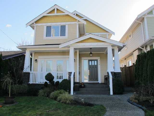 Main Photo: 310 HOLMES Street in New Westminster: The Heights NW House  : MLS®# V1107334