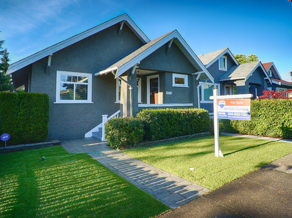Main Photo: 2273 GRAVELEY Street in Vancouver: Grandview VE House for sale (Vancouver East)  : MLS®# R2061586