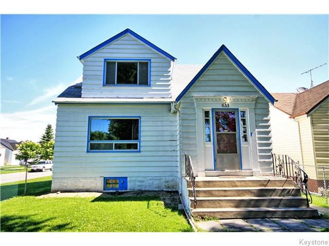 Main Photo: 633 Church Avenue in Winnipeg: North End Residential for sale (North West Winnipeg)  : MLS®# 1617324