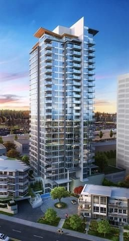 """Main Photo: 2703 520 COMO LAKE Avenue in Coquitlam: Coquitlam West Condo for sale in """"THE CROWN"""" : MLS®# R2130751"""