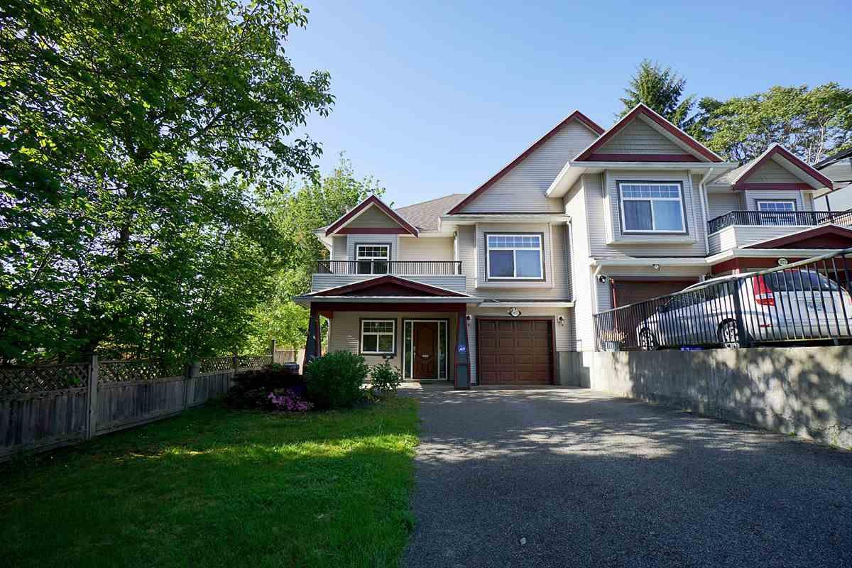 Main Photo: 1975 PETERSON AVENUE in Coquitlam: Cape Horn House 1/2 Duplex for sale : MLS®# R2174177