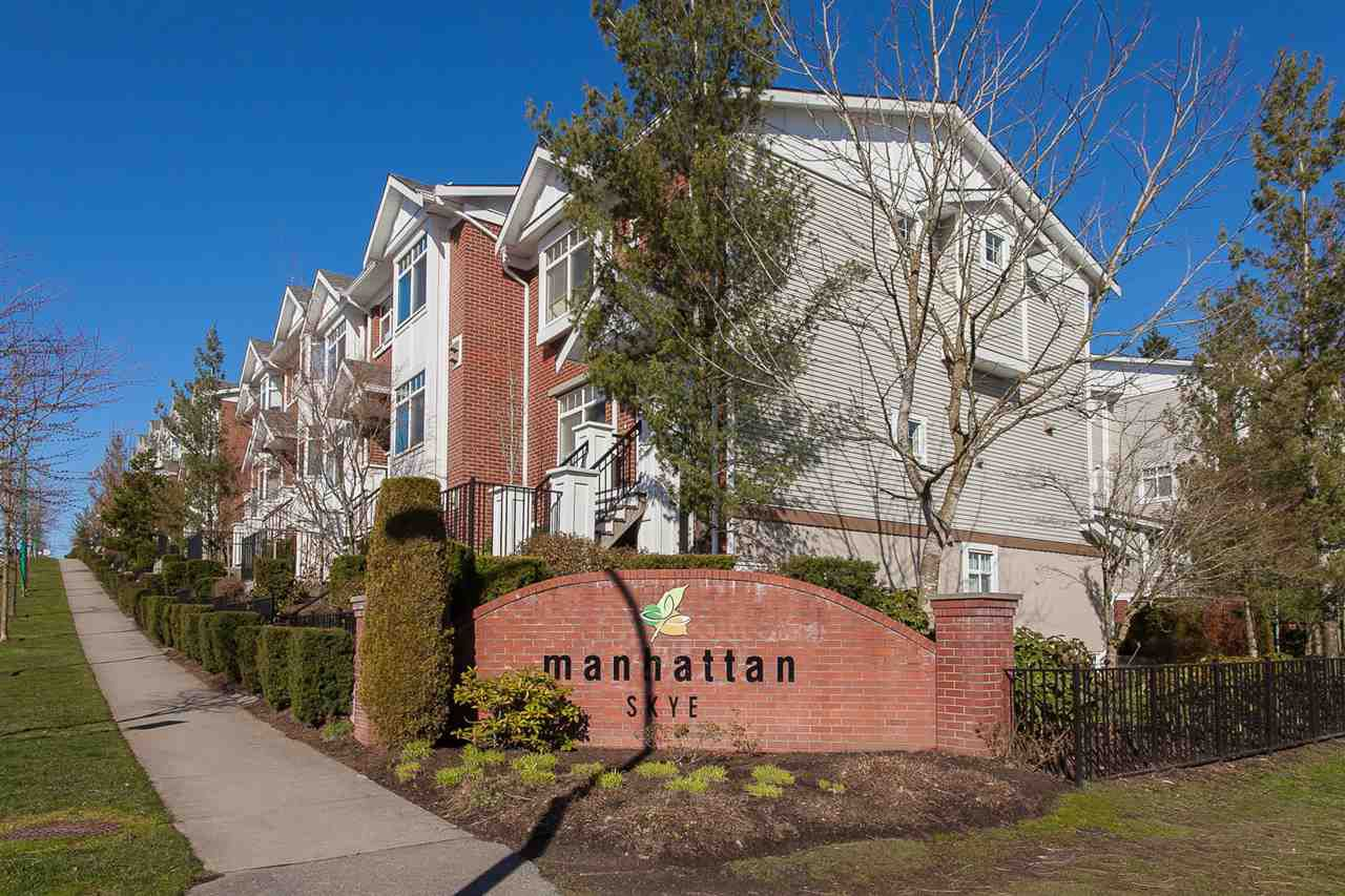 "Main Photo: 59 19551 66 Avenue in Surrey: Clayton Townhouse for sale in ""Manhattan Skye"" (Cloverdale)  : MLS®# R2249203"