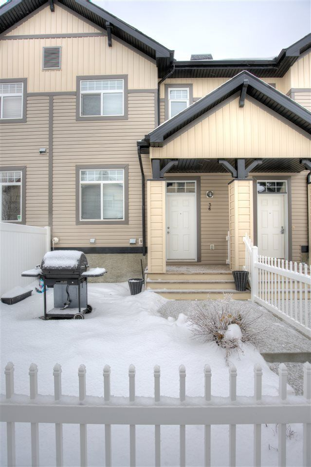 Main Photo: 36 465 HEMINGWAY Road in Edmonton: Zone 58 Townhouse for sale : MLS®# E4139832