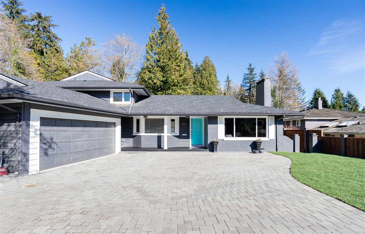 Main Photo: 519 NEWCROFT Place in West Vancouver: Cedardale House for sale : MLS®# R2362320