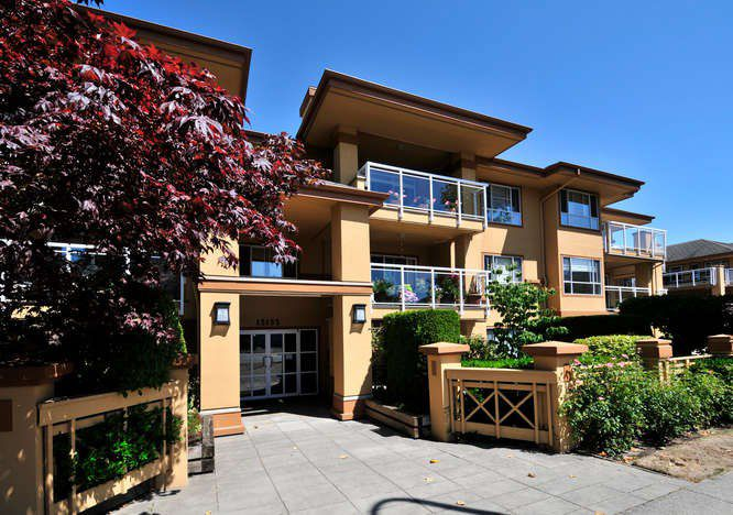 "Main Photo: 204 15155 22 Avenue in Surrey: King George Corridor Condo for sale in ""VILLA PACIFIC"" (South Surrey White Rock)  : MLS®# R2039589"