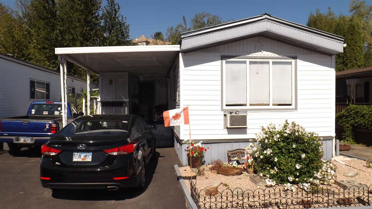 Main Photo: 62 3300 HORN Street in Abbotsford: Central Abbotsford Manufactured Home for sale : MLS®# R2206903