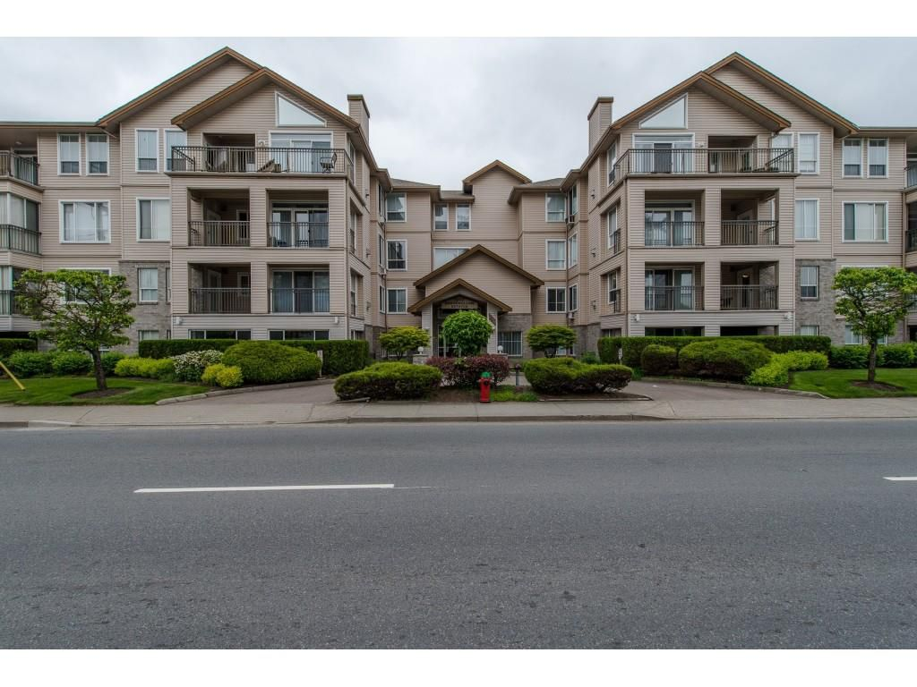 "Main Photo: 207 2772 CLEARBROOK Road in Abbotsford: Central Abbotsford Condo for sale in ""Brookhollow Estates"" : MLS®# R2289860"
