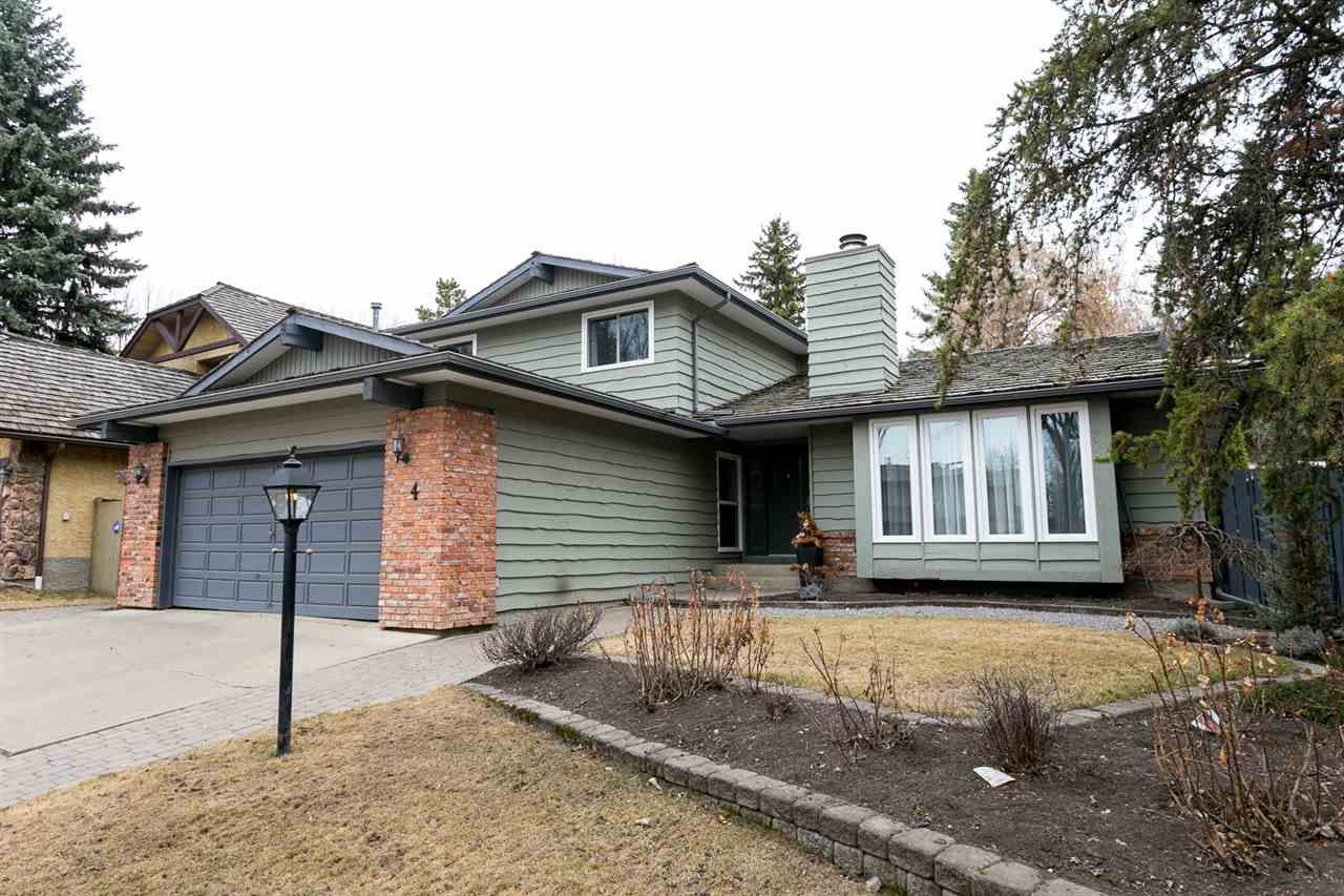Main Photo: 4 Berrymore Drive: St. Albert House for sale : MLS®# E4147718