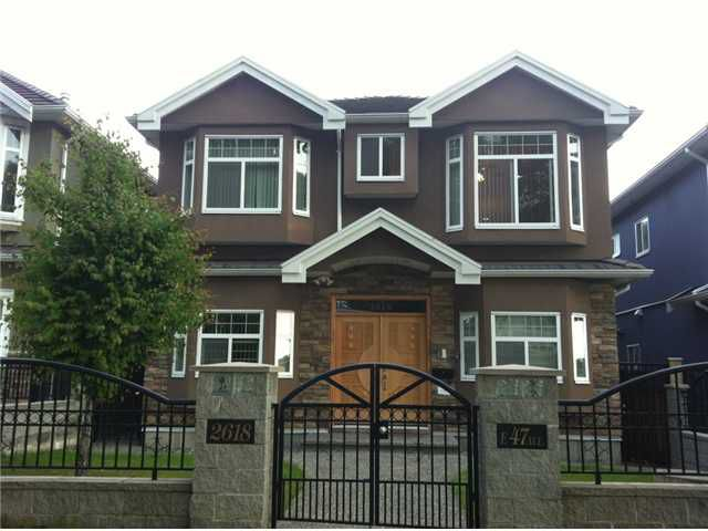 Main Photo: 2618 E 47TH Avenue in Vancouver: Killarney VE House for sale (Vancouver East)  : MLS®# V1071022