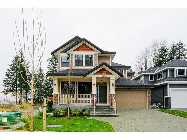 Main Photo: 15966 106TH Avenue in Surrey: Fraser Heights House for sale (North Surrey)  : MLS®# F1440723