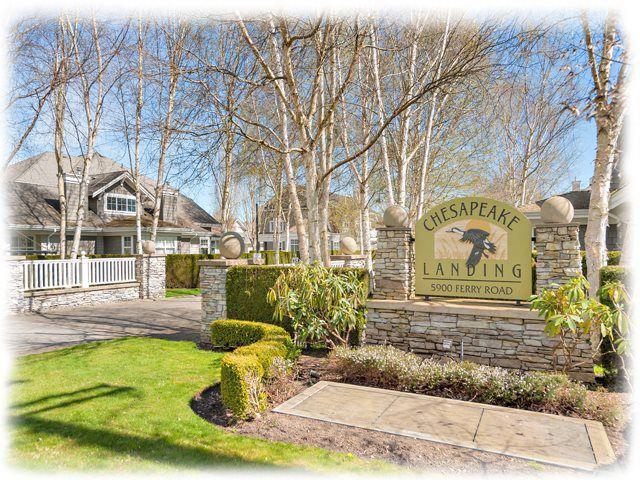 "Main Photo: 108 5900 FERRY Road in Delta: Neilsen Grove Townhouse for sale in ""CHESAPEAKE LANDING"" (Ladner)  : MLS®# R2052218"